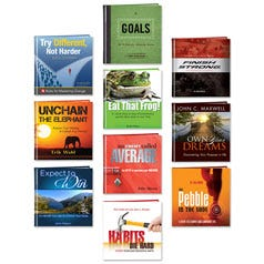 10 Goal Setting Books Bundle
