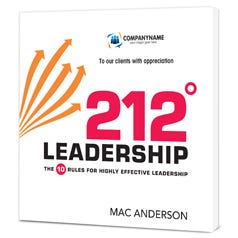 212 Leadership Customized Book – Paperback Edition