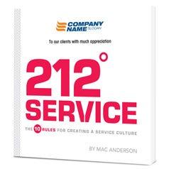 212 Service Customized Paperback Book