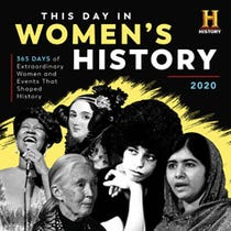 2020 History Channel This Day in Women's History Wall Calendar