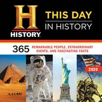 2020 History Channel This Day in History Wall Calendar