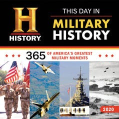 2020 History Channel This Day in Military History Wall Calendar