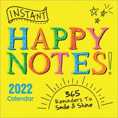 2022 Instant Happy Notes Boxed Calendar