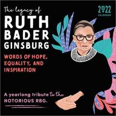 2022 The Legacy of Ruth Bader Ginsburg Wall Calendar