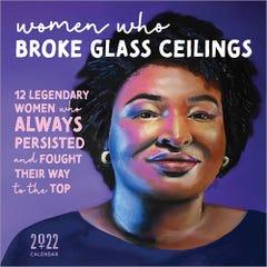 2022 Women Who Broke Glass Ceilings Wall Calendar