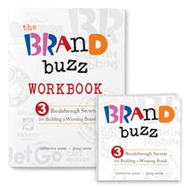 Brand Buzz Book + Workbook Bundle