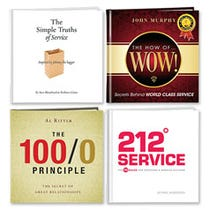 Customer Service Four Book Gift Set