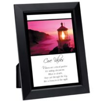 Core Values Framed Inspirational Print