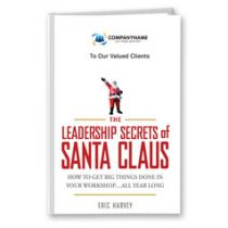 The Leadership Secrets of Santa Claus Customized Book