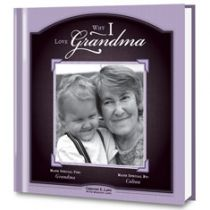 Why I Love Grandma Personalized Book