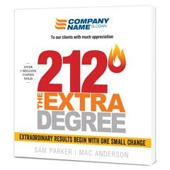 212 The Extra Degree Customized Book – Paperback Edition