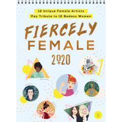 2020 Fiercely Female Wall Poster Calendar