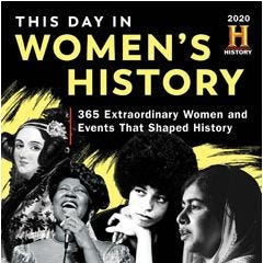 2020 History Channel This Day in Women's History Boxed Calendar
