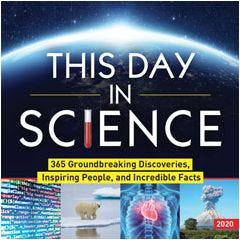 2020 This Day in Science Boxed Calendar