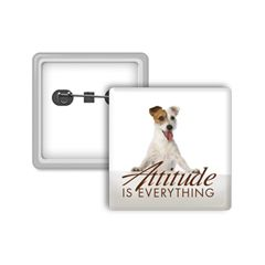 Attitude is Everything Small Square Button