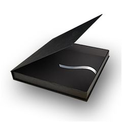 "Black Gift Box for 6.5"" Gift Books"
