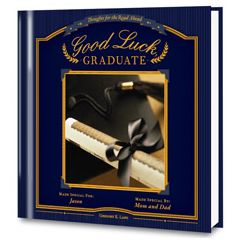 Good Luck, Graduate Personalized Book