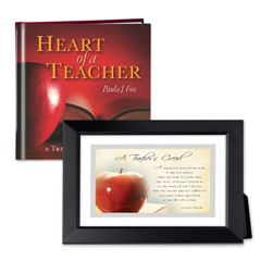 Heart of a Teacher Gift Set
