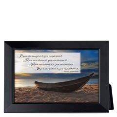 If You Can Imagine Framed Inspirational Print