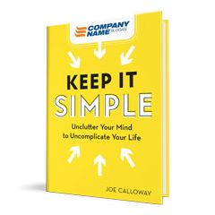 Keep It Simple Customized Hardcover