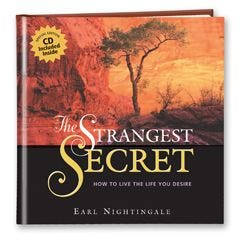 The Strangest Secret with CD and DVD Combo