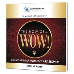 The How of Wow Customized Paperback Book