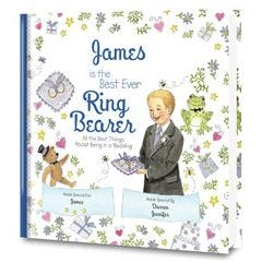 The Best Ever Ring Bearer Personalized Book