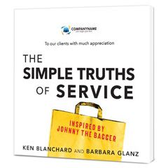 The Simple Truths of Service Customized Paperback Book