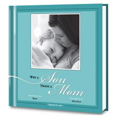 Why a Son Needs a Mom Personalized Book
