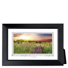 God's Gift Framed Inspirational Print