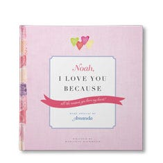 I Love You Because Personalized Book