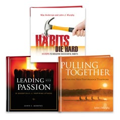 John Murphy Three Book Leadership Gift Set