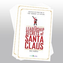The Leadership Secrets of Santa Pocket Folder