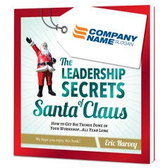 The Leadership Secrets of Santa Claus Customized Paperback Book