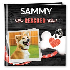 Who Rescued Who? Personalized Book