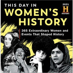 2021 History Channel This Day in Women's History Boxed Calendar