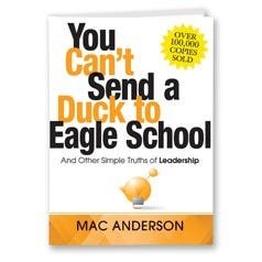 You Can't Send a Duck to Eagle School (Executive Edition)