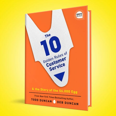 10 Golden Rules of Customer Service book