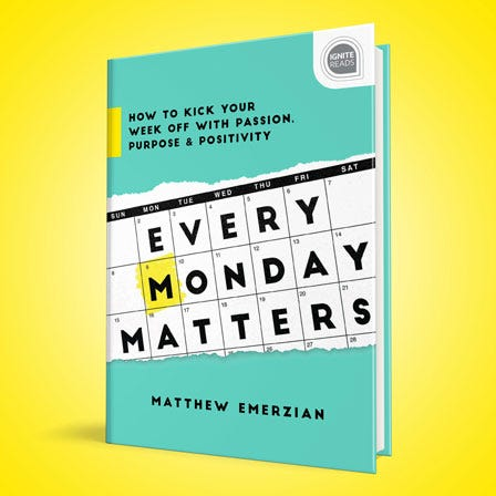 Every Monday Matters book