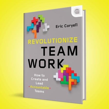 Revolutionize Teamwork book