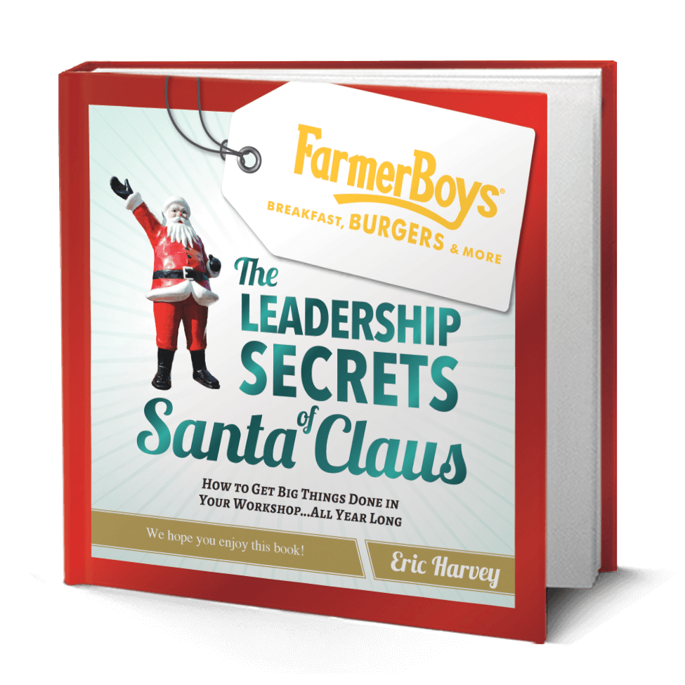 The Leadership Secrets of Santa Custom book