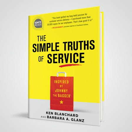 Simple Truths of Service book